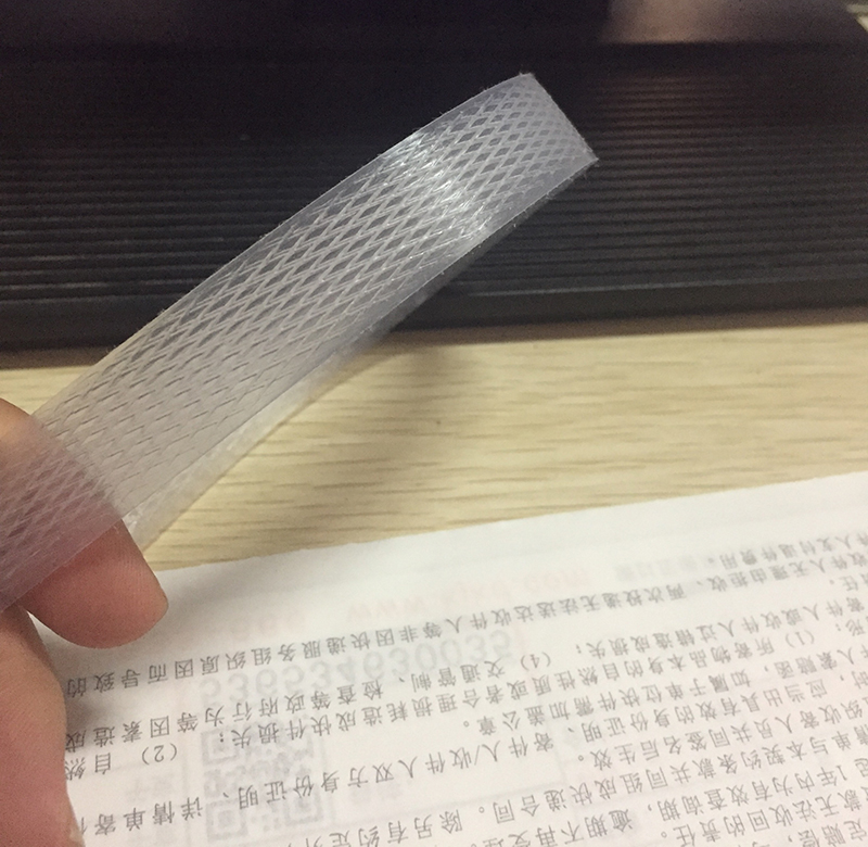 15 width 0.8 thick one head, hand packed with transparent white machine, with PP hot melt strapping packaging belt mm