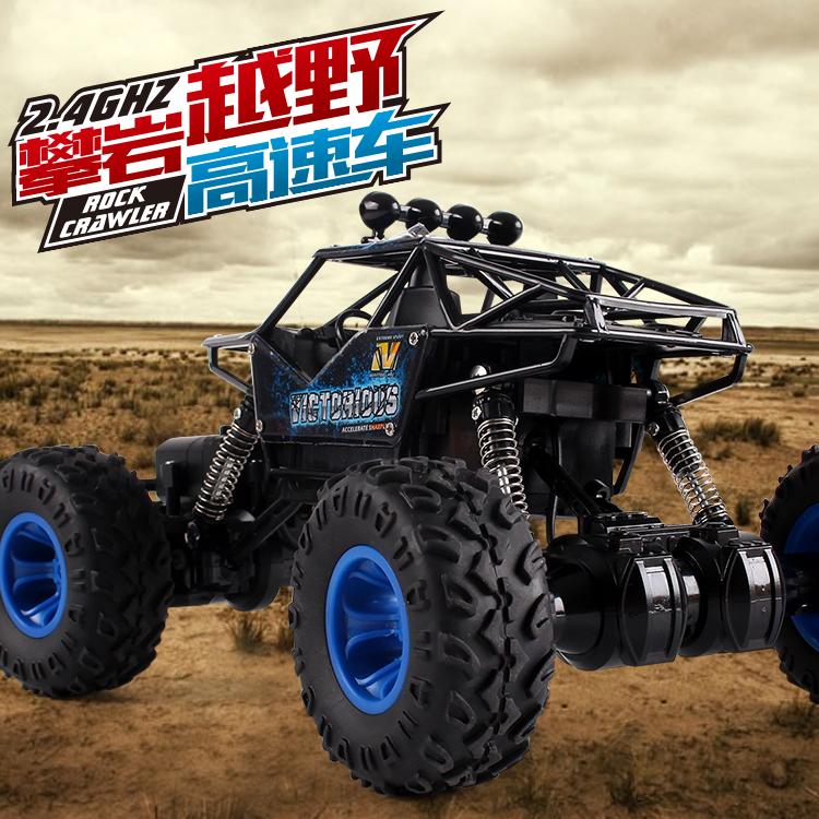 Ferngesteuerte autos offroad - 4wd auto aufladen, ferngesteuerte autos, rennwagen Bigfoot klettern Junge Elektro - Kinder - spielzeug - auto