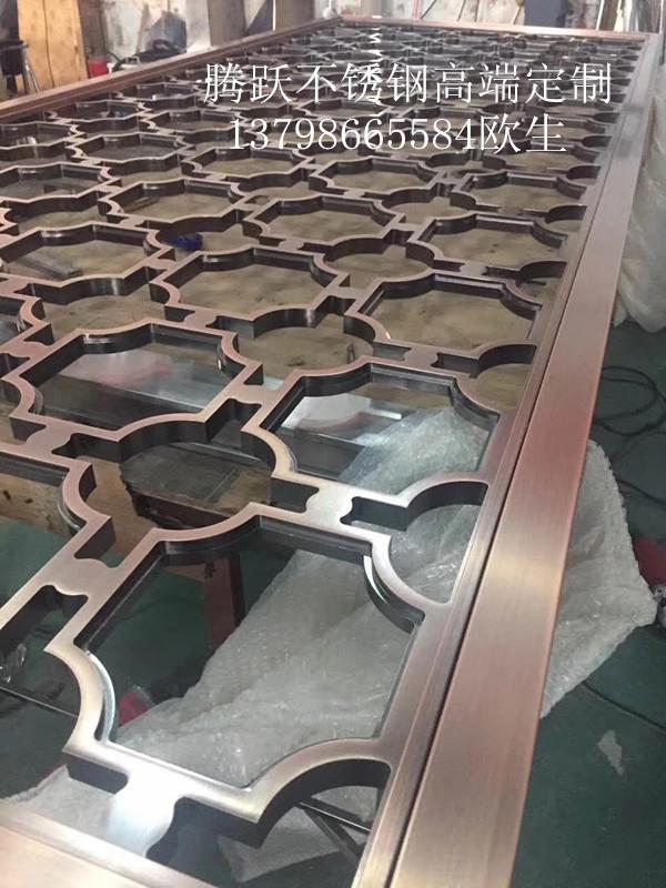 ステンレスメーカー直販屏風アルミニウム彫り屏風仕切りカスタム別荘シンプルなアルミニウムの彫り物