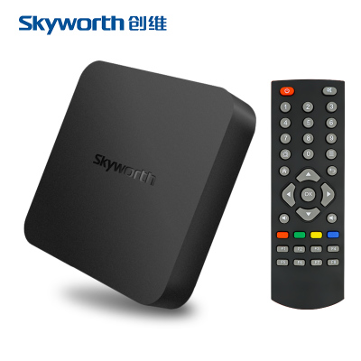 Skyworth/ skyworth a1c net set - top boks hd spiller androide unicom telecom mobile pakke post!
