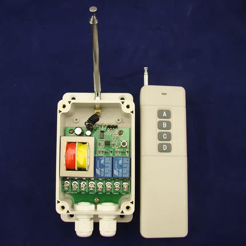 380 Power Distribution box fernbedienung wechseln die drahtlose fernbedienung wechseln 3000 Meter Wasser pumpen 2 - Wege - fernbedienung 220V