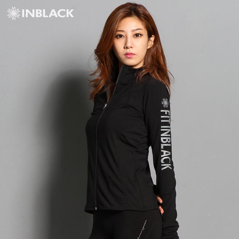 Y Corea del Sur con su nueva chaqueta ropa de gimnasia yoga, correr al aire libre del deporte de ocio zip abrigo