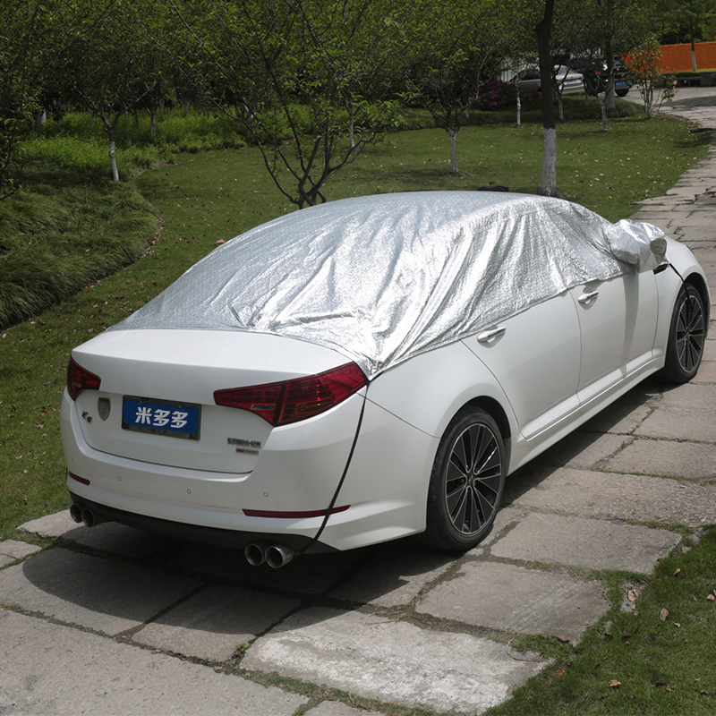 auto blokuje izolační ochranné fólie deštník okna stínování hledí k půl hood slunce do čelního skla