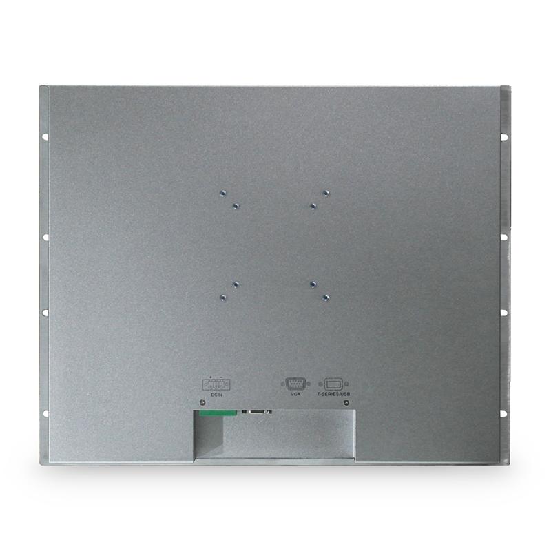 17 بوصة 19 بوصة شاشة تعمل باللمس الصناعية الألومنيوم قذيفة سبيكة الكريستال السائل الصناعية تركيب مجلس الوزراء رف على المقاومة