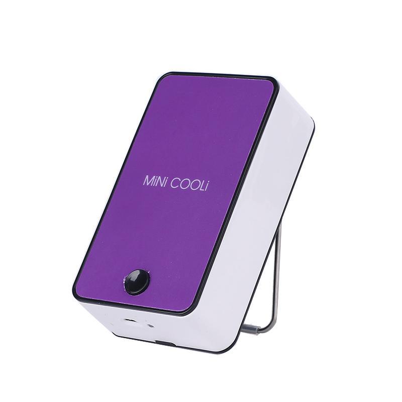 La Oficina de los mini - Cámara de aire acondicionado que carga la cama dormitorio mesa portátil USB silencioso ventilador de refrigeración