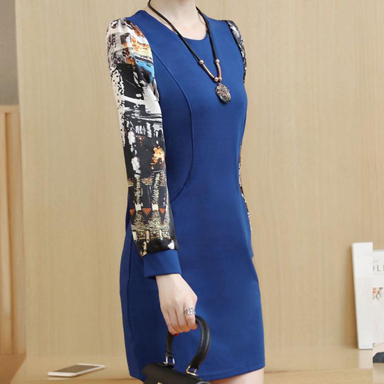 女裝秋裝2017新款潮套30歲韓版35真絲25顯瘦中長款40秋夏款連衣裙