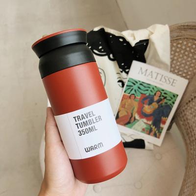 日系原宿不锈钢保温杯创意便携简约文艺清新男女学生水杯过滤杯子