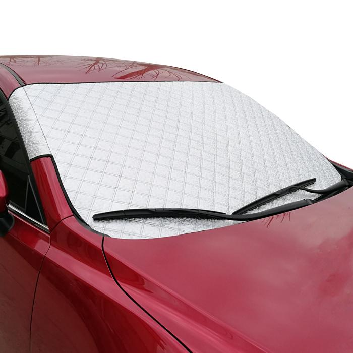 Το αυτοκίνητο της θερμομόνωσης ηλιοπροστασία ομπρέλα όχημα σκίαση ανθήλια κουρτίνα αλουμινόχαρτο μισό κάλυψη του αλεξήνεμου ήλιο.