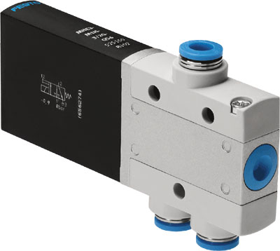 The original FESTO FESTO direct acting solenoid valve MEBH-3-09157529 large spot