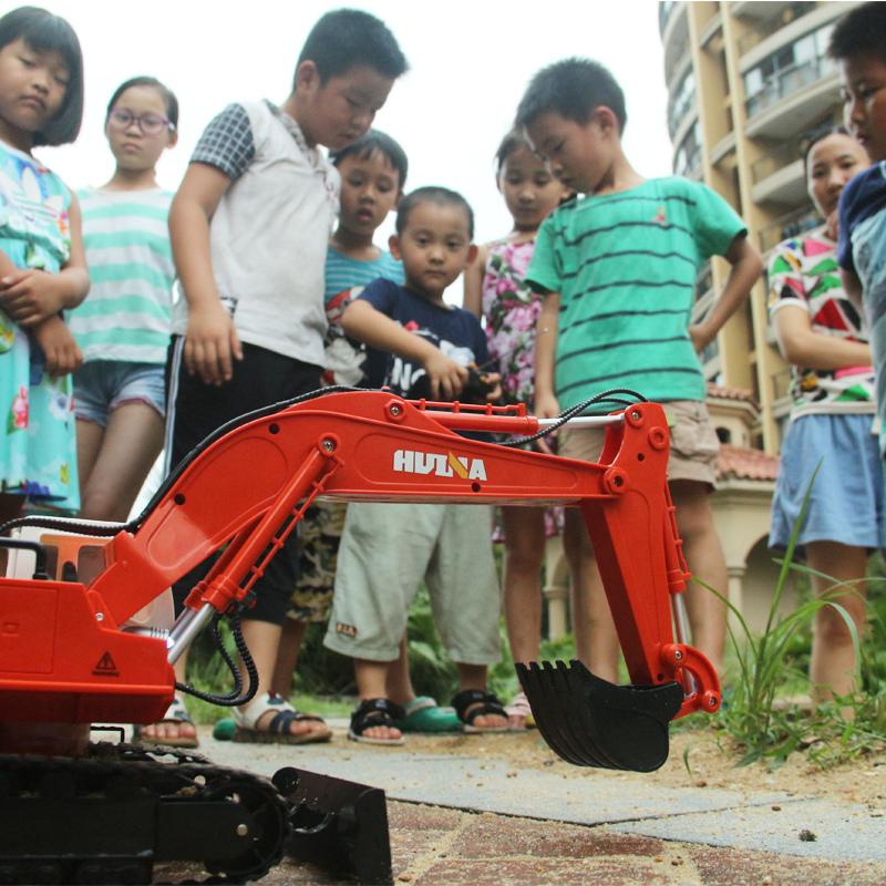 - Bagger 3-6-9-12 Jahre Junge Kinder spielzeug - auto spielzeug für ferngesteuerte Bagger - Hook