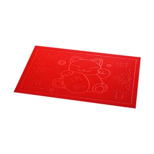 进门地垫门垫 入户门厅大门口防滑垫子家用吸尘红地毯脚踏垫定制