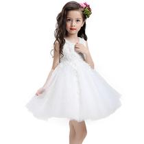 2018儿童礼服公主裙女童演出拍摄服装花童蓬蓬连衣裙宝宝童装裙子