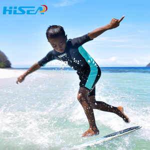 儿童潜水服女童男童宝宝冲浪衣水母衣潜水保暖游泳衣装备防寒厚款