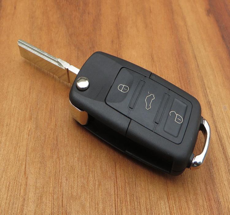 北京现代老款索纳塔钥匙改装名驭汽车遥控钥匙 对拷折叠钥遥控器高清图片