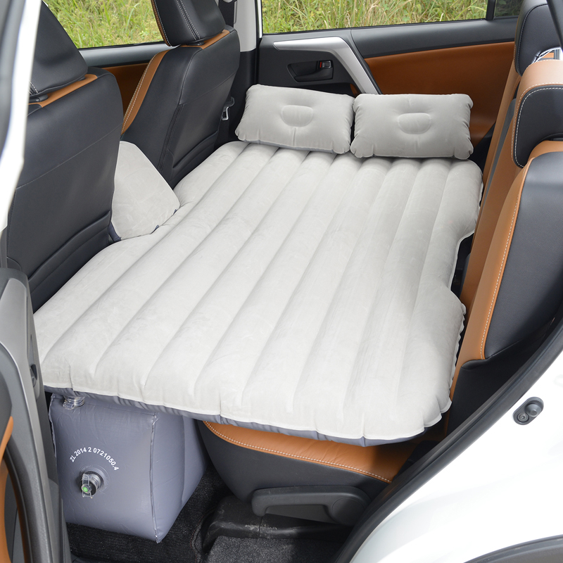 Car air cushion bed bed inflatable car cushion pad filled with multi-functional exhaust pad general shock three compartments split