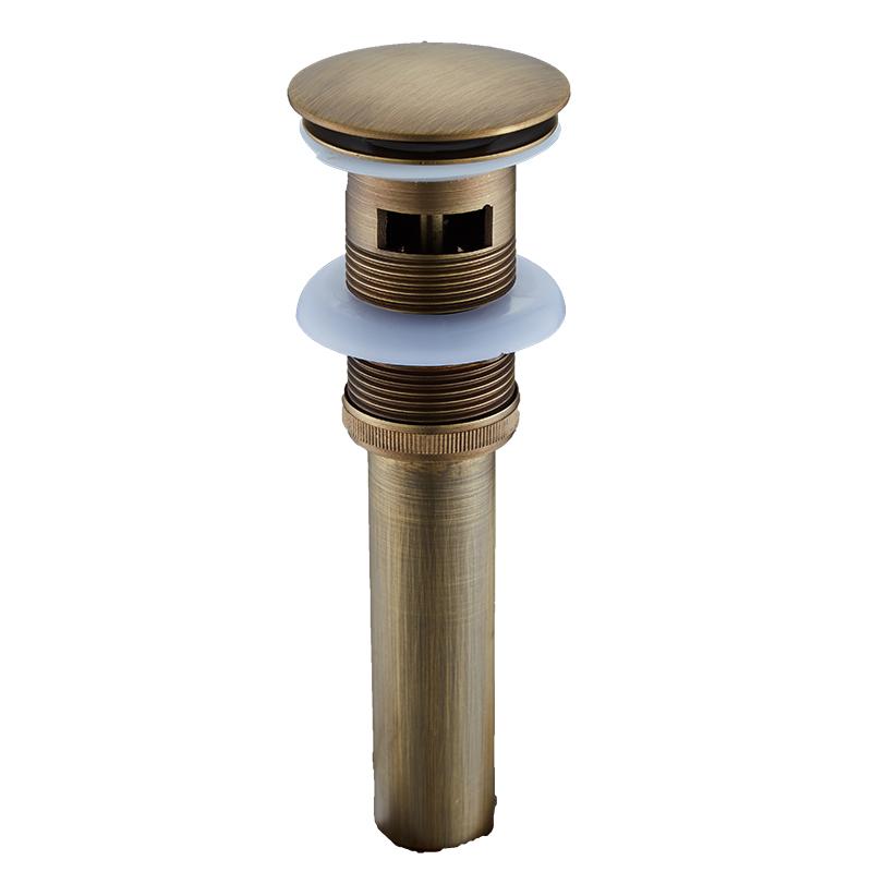 Cobre todo el agua del lavabo antiguo retro en placa de cobre en agua de tubería de acero inoxidable de paquetes y correo