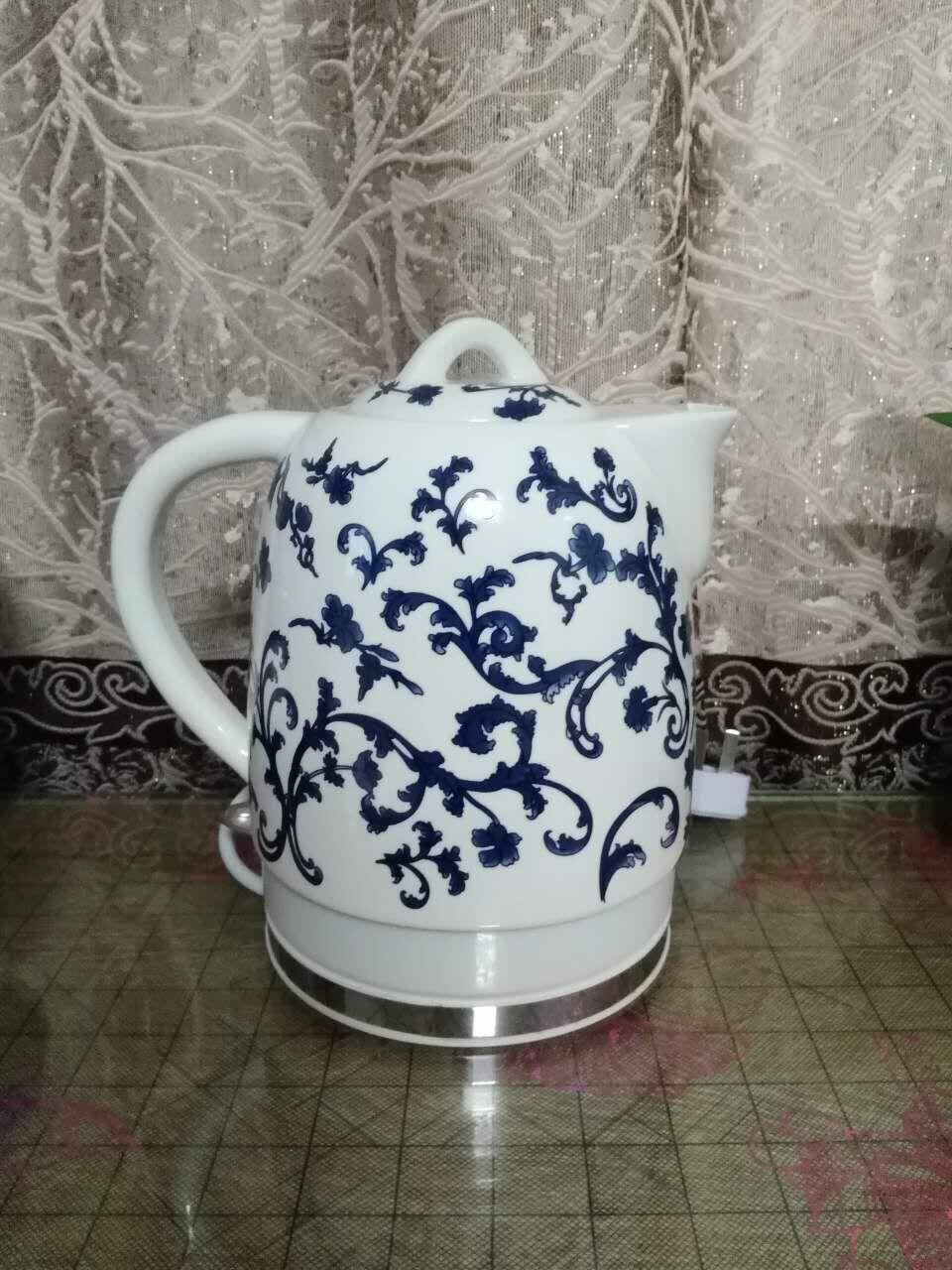 Teteras de porcelana la desconexión automática de la tetera de té té caliente tetera eléctrica de gran capacidad de beber agua