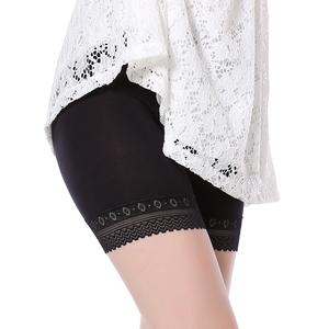 【买2件送1件】纯棉质保险裤蕾丝打底裤莫代尔棉安全裤防走光女夏