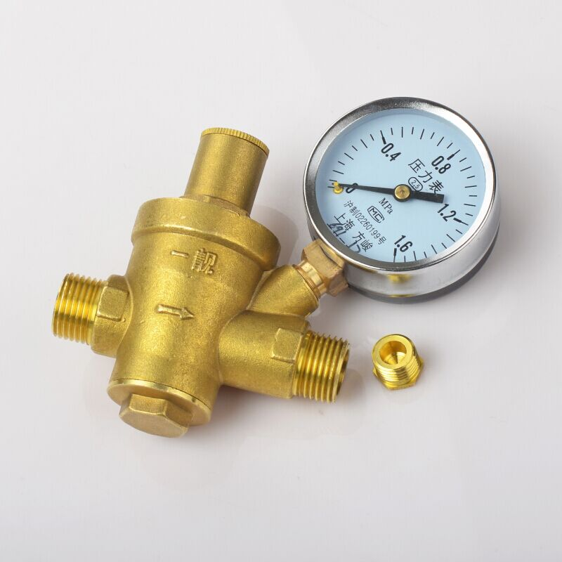 Thickening brass water heater pressure reducing valve, tap water pipeline pressure reducing valve, outer wire pressure reducing valve, pressure regulating valve, water purification and pressure reducing
