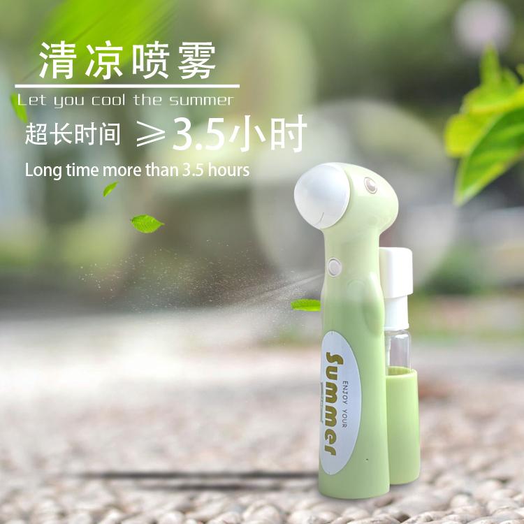 Mini - USB di Acqua di refrigerazione sul Palmo della mano di Piccole dimensioni Fan Spray portatili ricaricabili Fan degli studenti