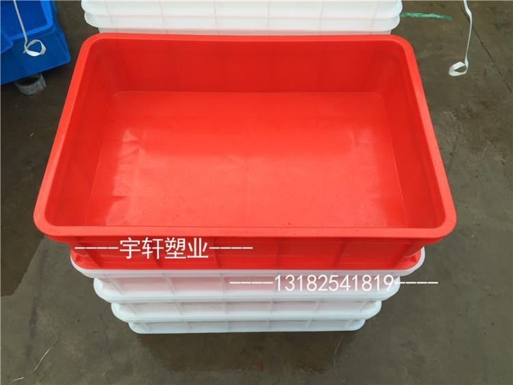 defekta behållare av plast med nytt material material som plast röd rektangel lim lim - låda square.