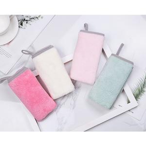 毛巾珊瑚绒洗脸家用成人情侣一对柔软涤棉小方巾儿童毛巾婴儿手巾