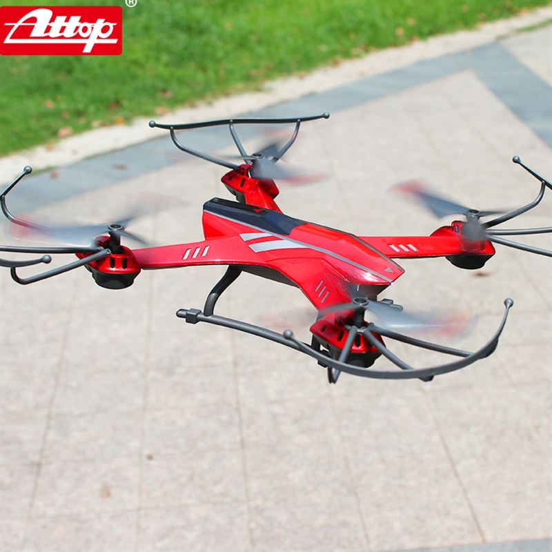 Μεγάλο τηλεχειριστήριο τεσσάρων αξόνων εναέριων οχημάτων UAV σταγόνα-ανθεκτικά αεροσκάφη ελικόπτερο αεροσκάφη παιδικά παιχνίδια