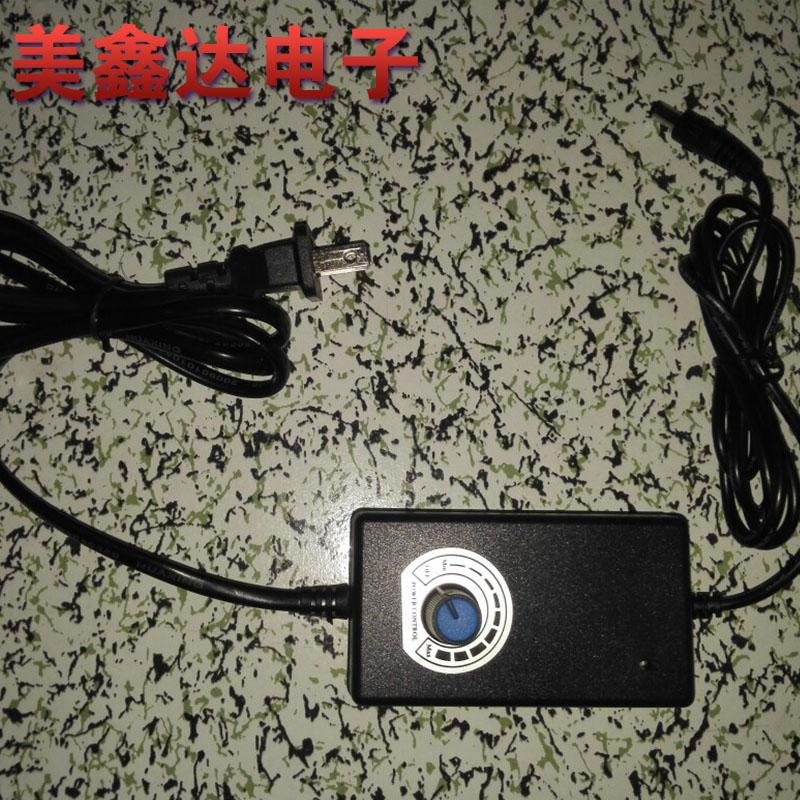 Fonte de alimentação externa 24V1A 24W interruptor de regulação de Velocidade de desvio de UMA 0 - 20V 1-24V potenciômetro de tensão ajustável DC Fonte de alimentação
