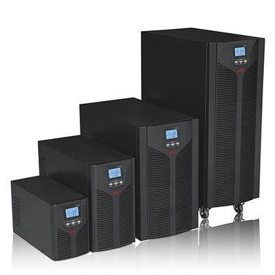 Este Grupo de alta frecuencia de energía EA902Hups 2kva anfitrión de tres años de garantía de batería externa 48v