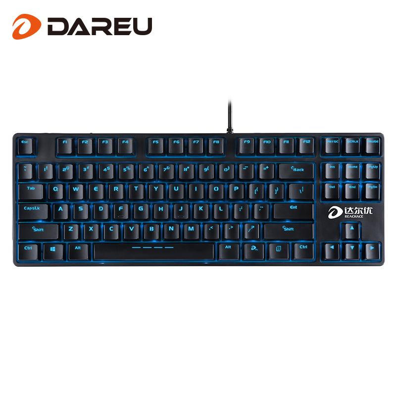 - i całego klucza nie ma DK100 dahl LOL/CF klawiatury usb niebieskie światła maszyn elektrycznych