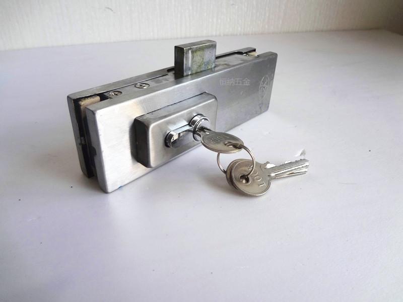 Glass door lock, lock clip, latch, glass door lock, spring door fittings