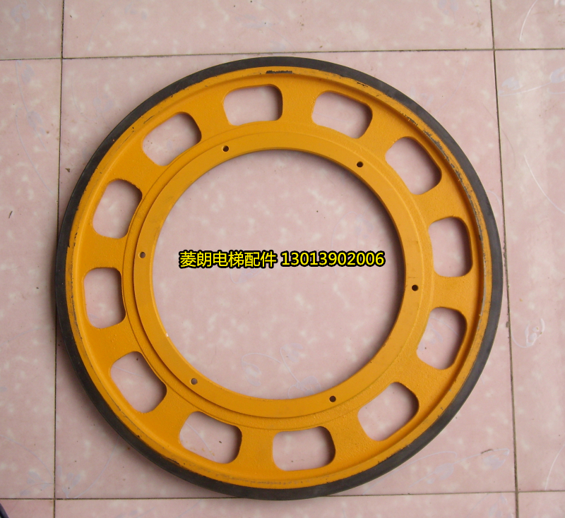 Friction wheel, Schindler friction wheel, escalator friction wheel, escalator wheel, handrail friction pulley