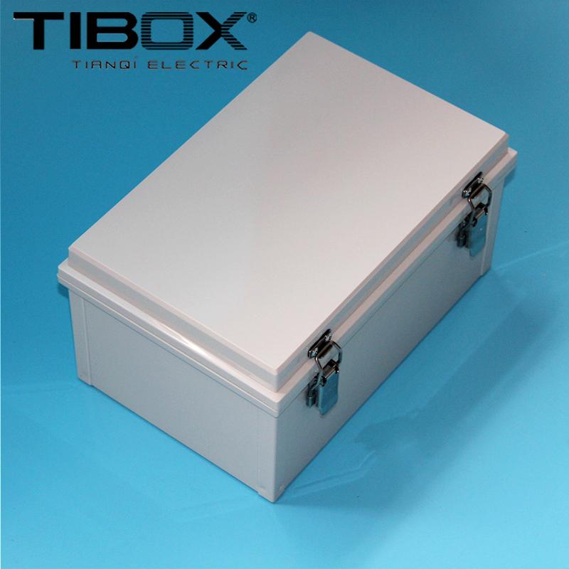 TIBOX wholesale 200*300*150 waterproof plastic box hinge hinge hinge box outdoor rainproof control box