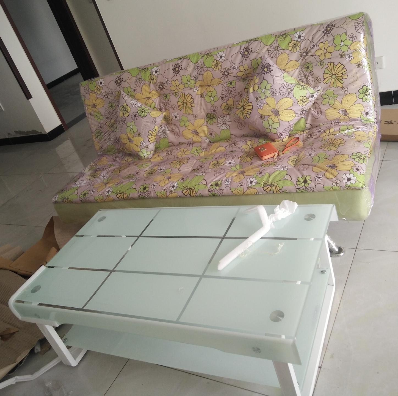 天津は天津の簡約布製ソファベッドの3人のソファーベッドの3人のソファーベッドベッド