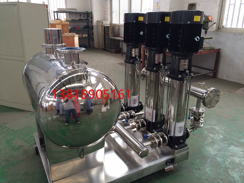 304 stainless steel horizontal non negative pressure steady flow tank, horizontal negative pressure tank SSWL800*1500, no water stop