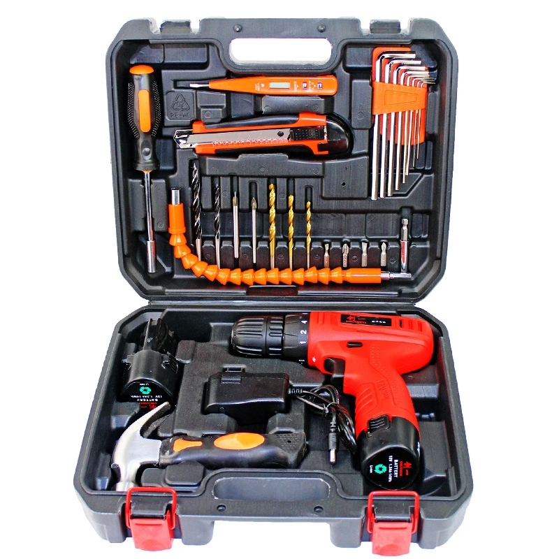 Set up car repair warehouse, hardware portable vehicle, dimensional tools, apply clean multi-function toolbox, carrying water and electricity