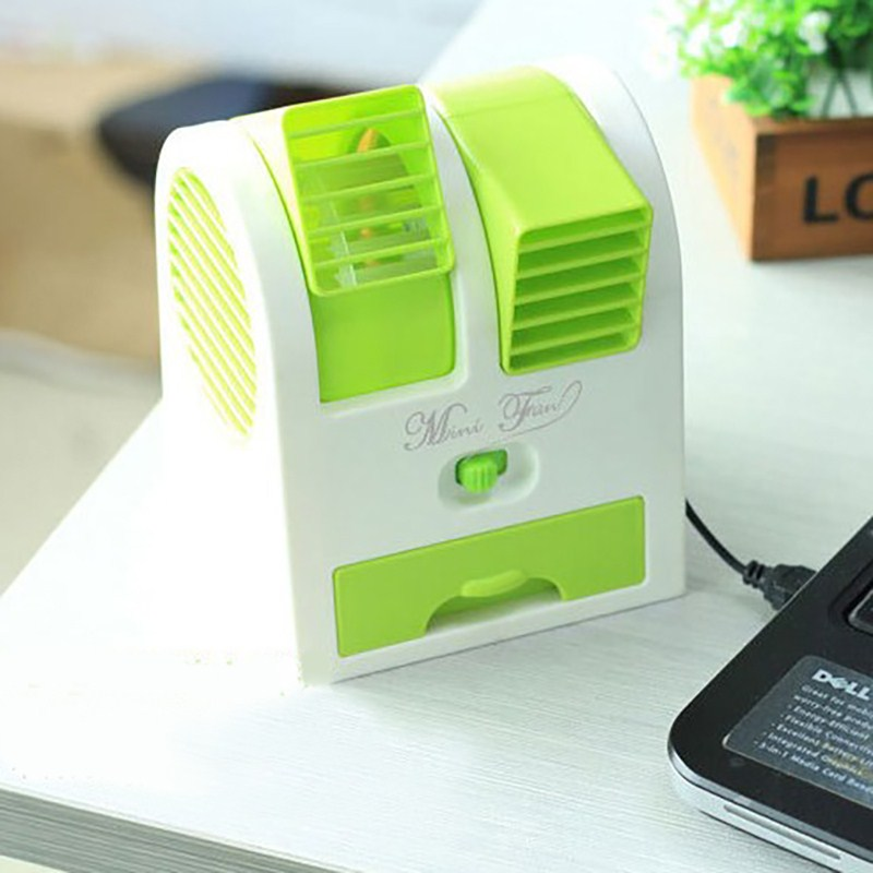 USB mini air conditioning portable portable cold water spray humidifier