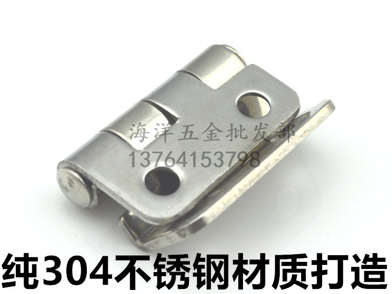 Hot 304 stainless steel bending right angle hinge, industrial machinery and equipment box door hinge CL252 quality is good