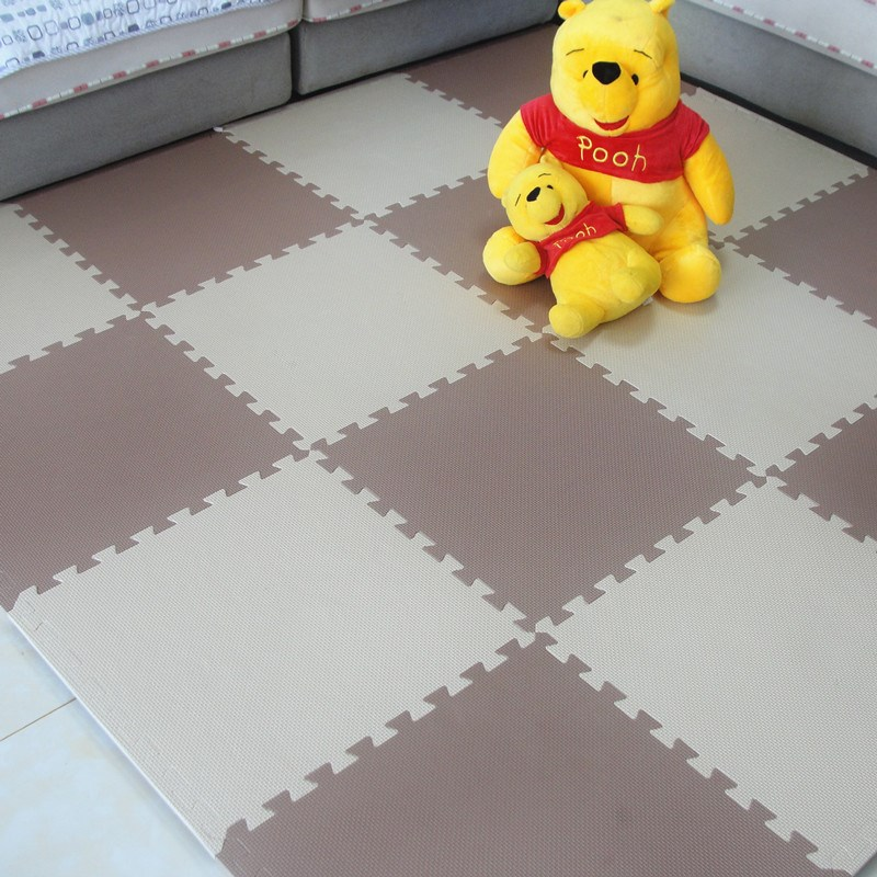 Thick 2.5cm children mats mosaic crawling pad skidproof tatami mat 6 bedroom floor