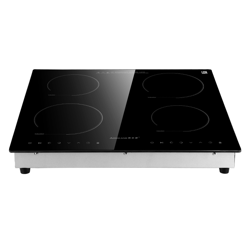 Four head induction cooker with four eyes, multi focus electromagnetic stove, embedded home desk, commercial chafing dish pot, baby stove, battery, furnace