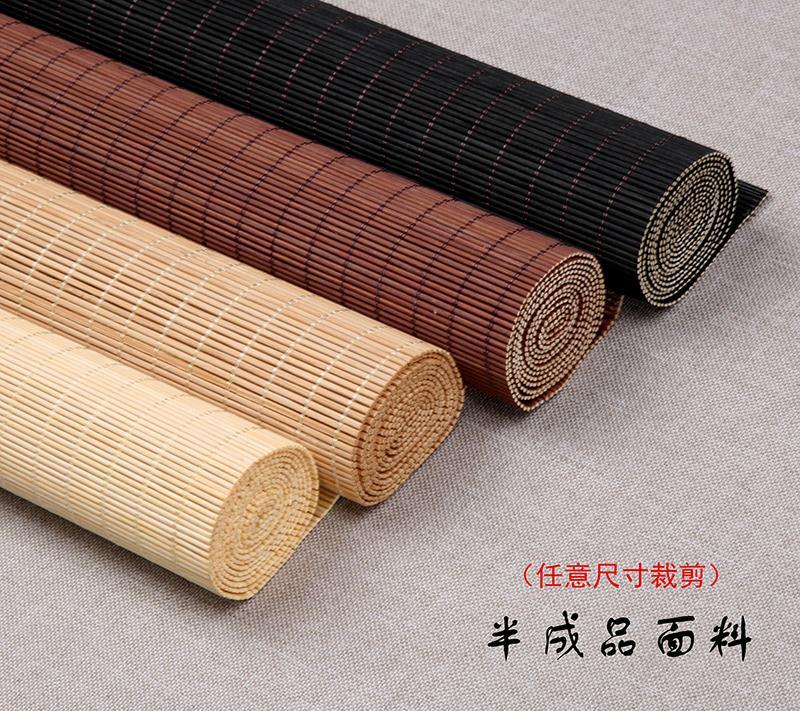 Fine bamboo curtain shutter curtain lifting partition curtain ventilation balcony restaurant Japanese tatami bamboo mildew