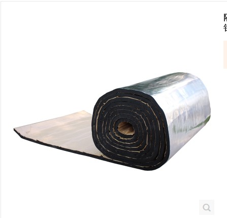 Roof insulation cotton, high temperature resistant fireproof self-adhesive, automobile sunshine room, ceiling sun protection, moisture-proof roof aluminum foil