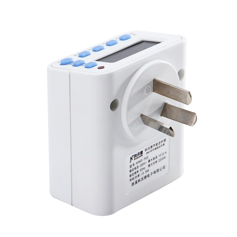 T02 электронный таймер выключатели и розетки для зарядки электромобилей выключаться автоматически регулятор питания