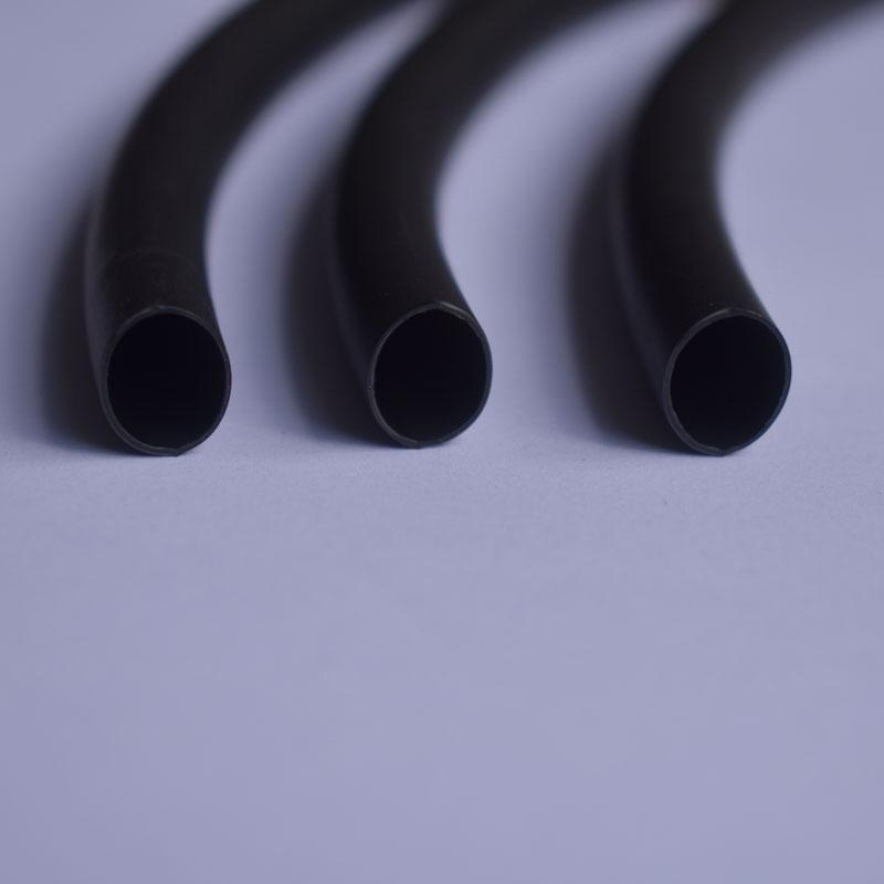 4 veces con el tubo de Goma con pegamento caliente el tubo cuatro veces el espesor de aislamiento 1820243240mm contracción