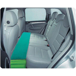 General car carrying inflatable cushion pad gap travel car bed foot car filled with air