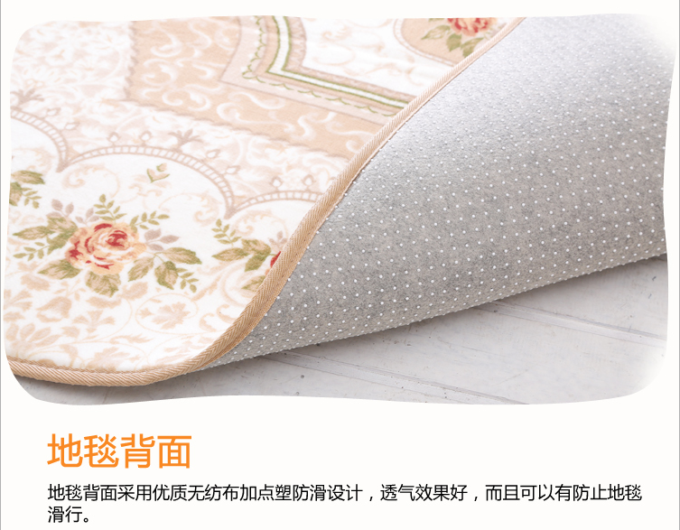 European carpet covered with tatami with thick carpet mats living room bedroom bedside table custom.