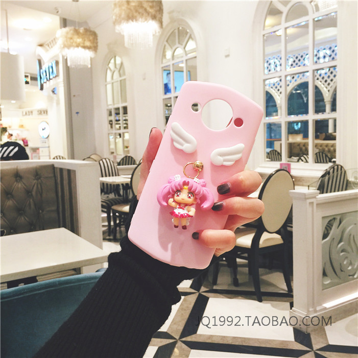 Yang Mi with cartoon sailor doll Mito M4M4S mobile phone shell M6M6S lanyard T8 soft shell M8 tide