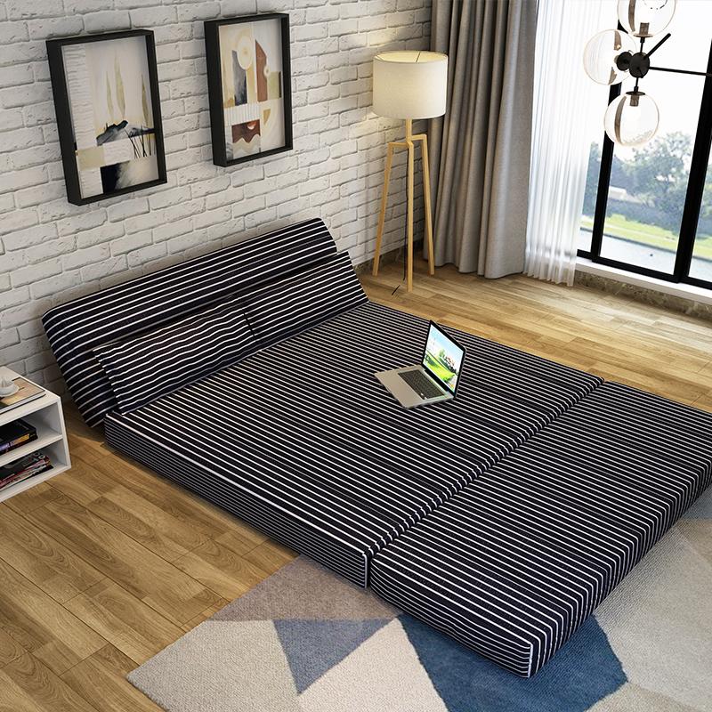 δημιουργική ο καναπές πτυσσόμενο καναπέ και μία καρέκλα δωμάτιο τατάμι καναπέ κρεβάτι.