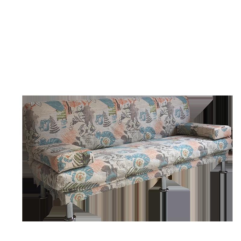 Τον καναπέ - κρεβάτι πτυσσόμενου ύφασμα το μικρό μέγεθος του σαλονιού και πολυλειτουργική 1.81.21.5 μέτρα διπλό
