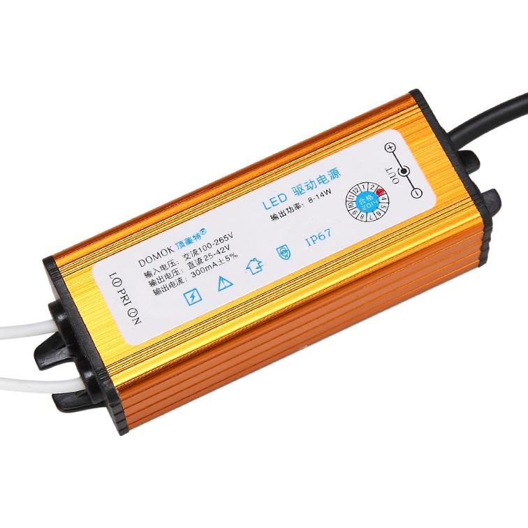 LED waterproof drive 8-14 power supply 16-18 transformer 4-7W ballast adapter ceiling lamp voltage regulator